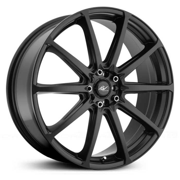 ICW Racing 215B Banshee  Wheels Satin Black