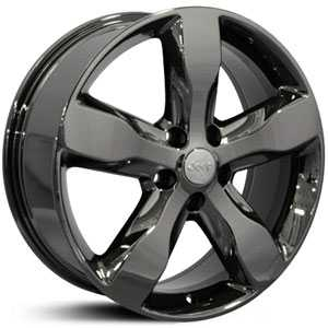 Jeep Grand Cherokee JP11  Wheels Black Chrome