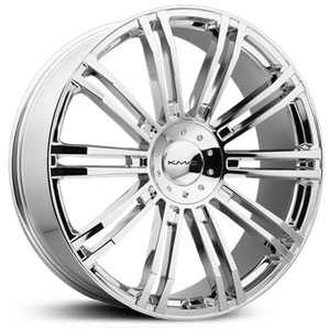 KMC 677 D2  Wheels Chrome