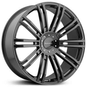 KMC 677 D2  Wheels Gloss Black