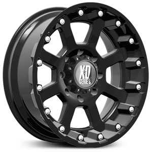 KMC 807 XD Series Strike  Wheels Matte Black