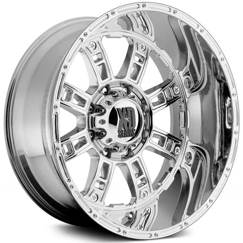 KMC XD Series XD809 Riot  Wheels Chrome