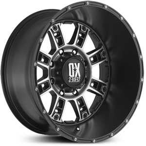 XD Series XD809 Riot Matte Black Machined