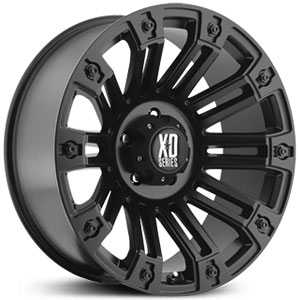 KMC XD Series XD810  Wheels Gloss Black w/ Machined Face
