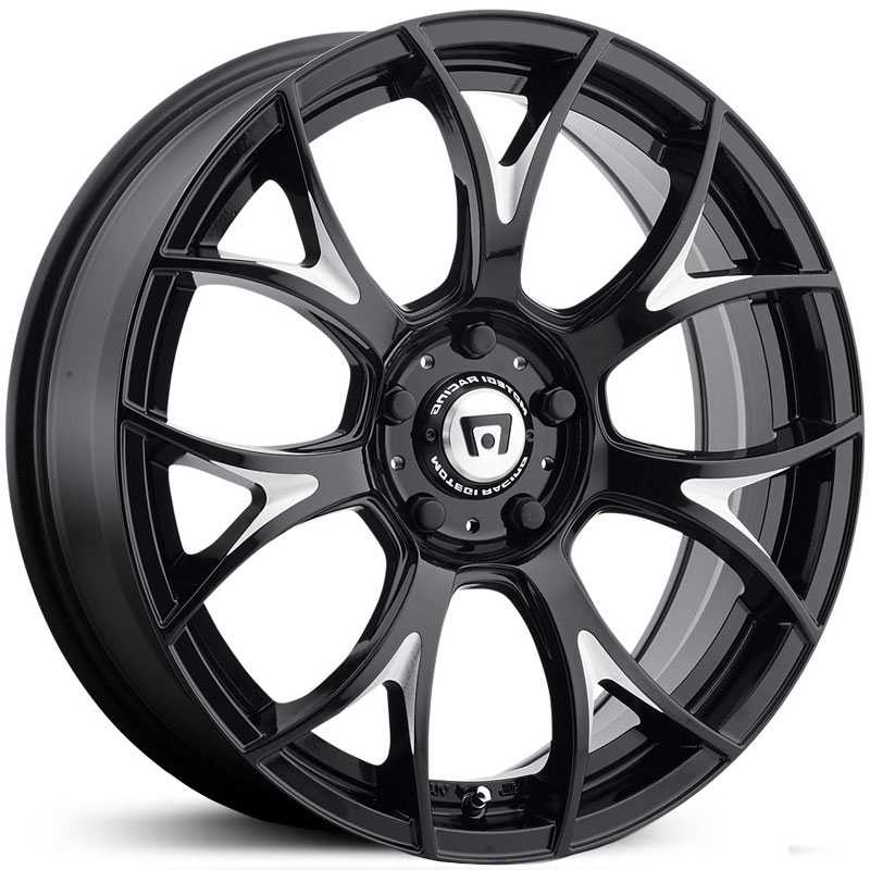 Motegi Racing MR126  Rims Gloss Black Milled