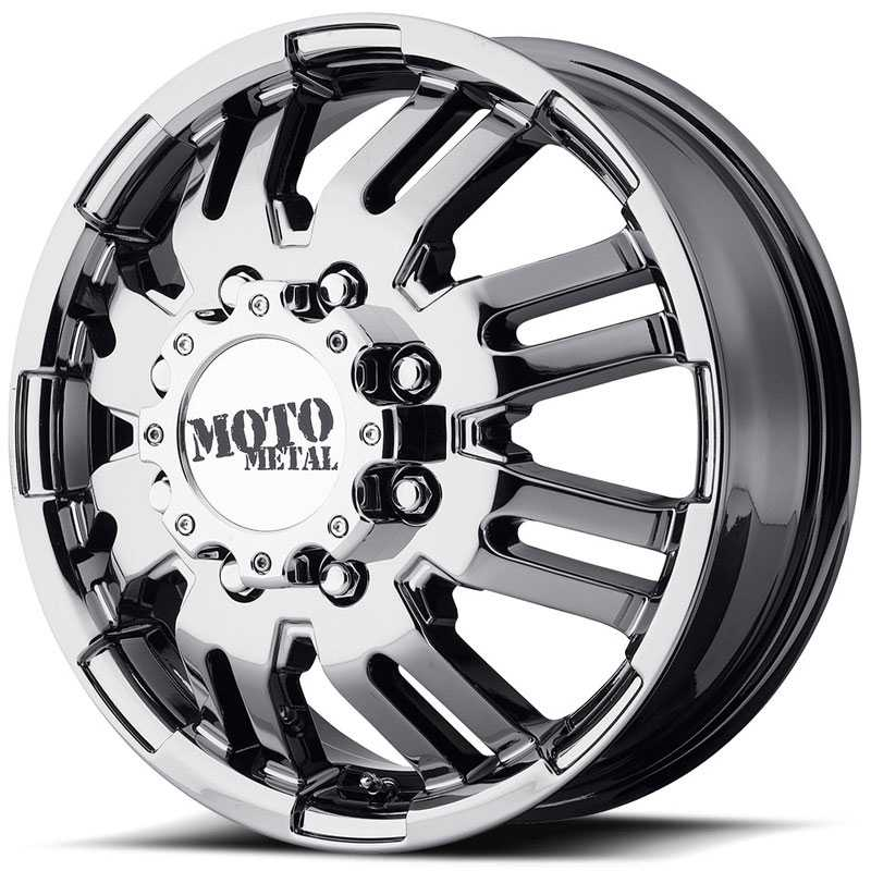 Moto Metal MO963  Wheels Front Dually Bright PVD