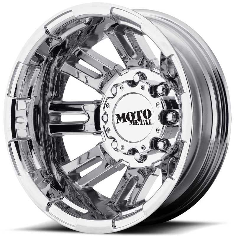 Moto Metal MO963  Wheels Rear Dually Bright PVD