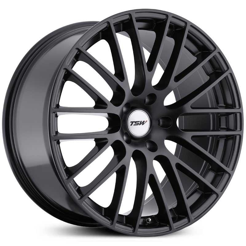 TSW Max  Wheels Matte Black