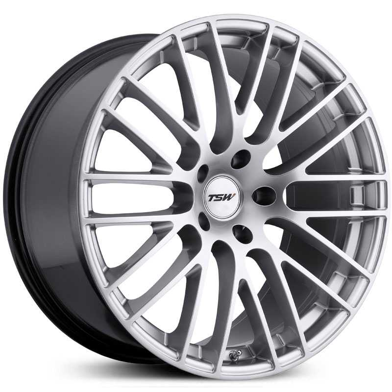 TSW Max  Rims Silver Machined Face