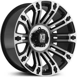 XD Series XD810  Wheels Gloss Black w/ Machined Face