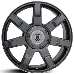 Cadillac Escalade CA80  Wheels Black Chrome
