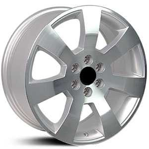 Cadillac SRX CA05  Wheels Silver w/Machined Face