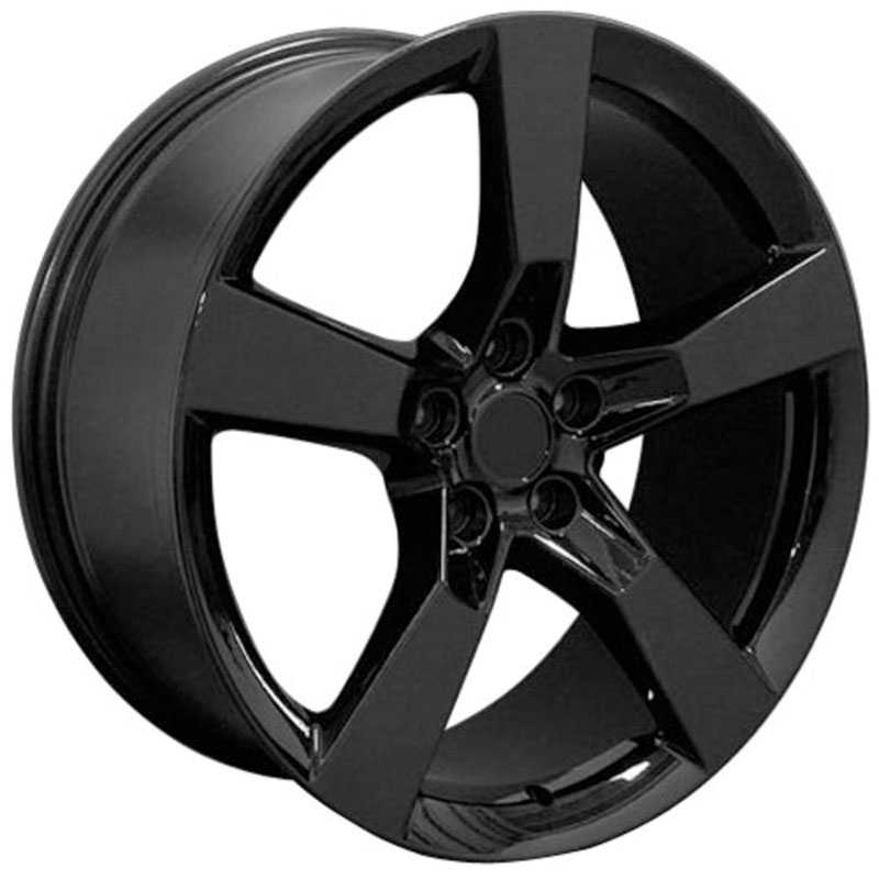 Chevy Camaro SS CV11  Rims Black