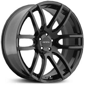 Lorenzo 036  Wheels Gloss Black Milled