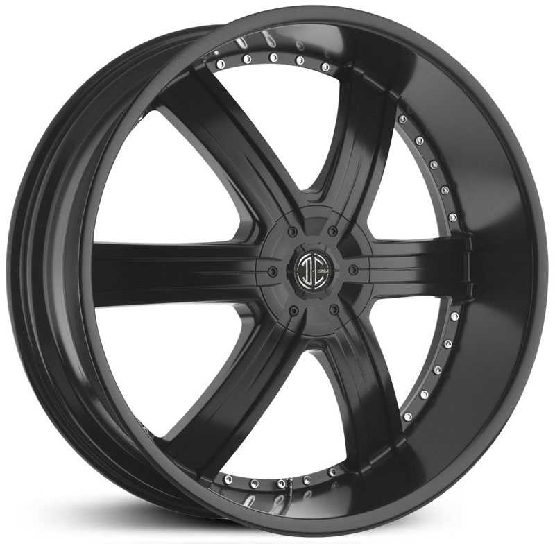 2Crave No 04  Wheels Satin Black