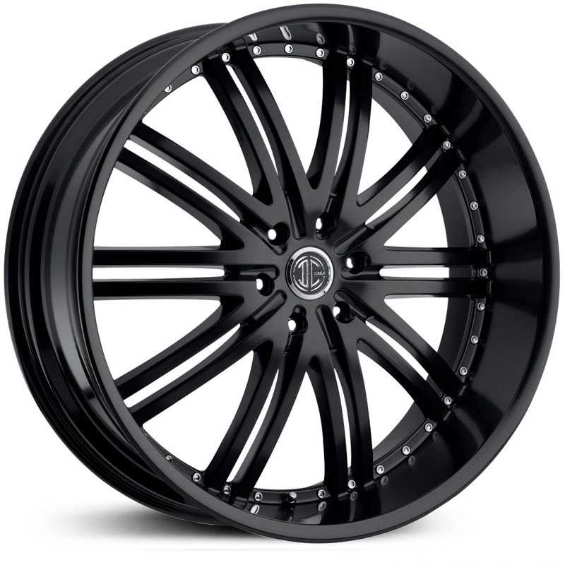 2Crave No 11  Wheels Satin Black