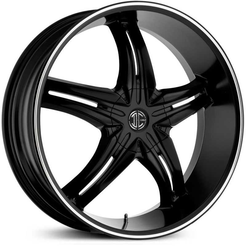 2Crave No 15  Wheels Satin Black