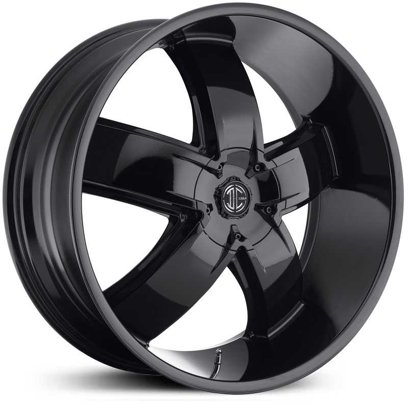 2Crave No 18  Wheels Glossy Black