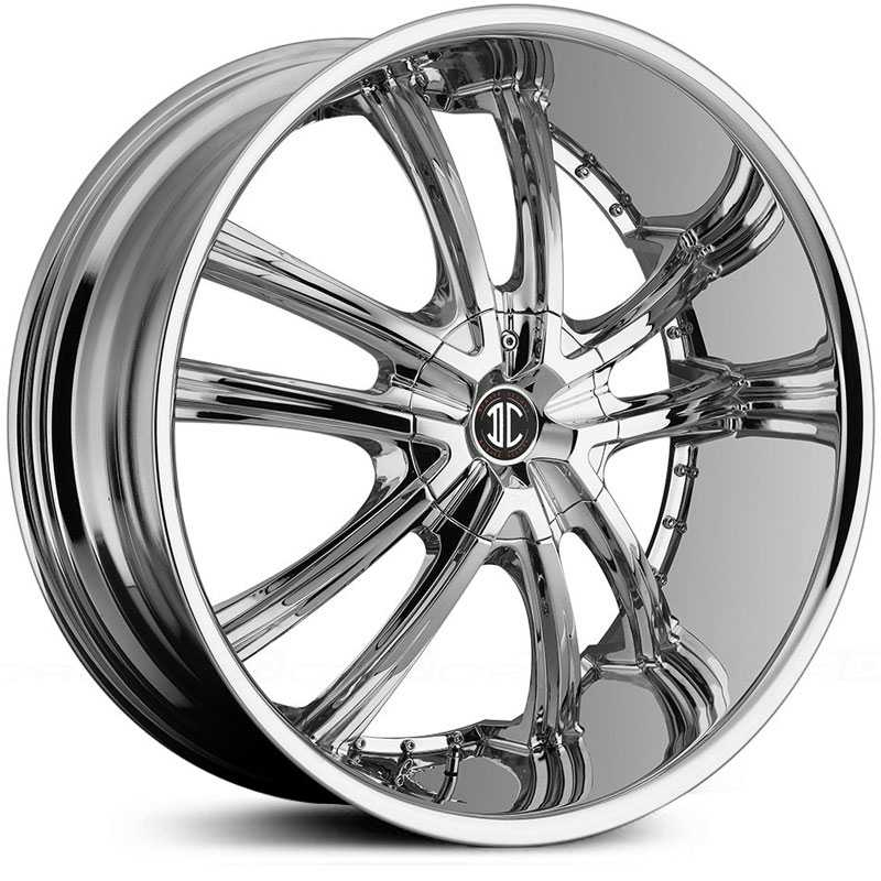 2Crave No 21  Wheels Chrome