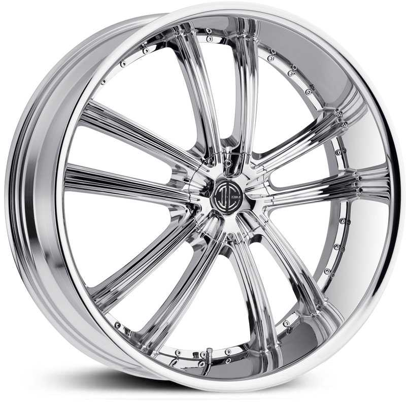 2Crave No 24  Wheels Chrome