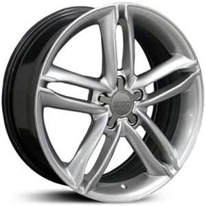 Audi New TT  Wheels Hyper Silver
