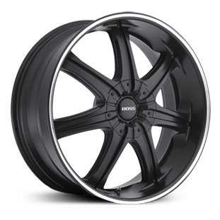 Boss 345  Wheels Black with Superfinish Stripe