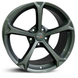 Chevy Corvette Grand Sport CV12  Wheels Gunmetal