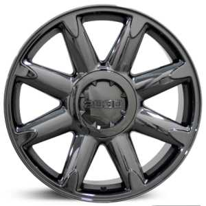 Chevy Denali CV85  Wheels Black Chrome
