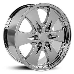 Chevy Escalade CV80  Rims Chrome