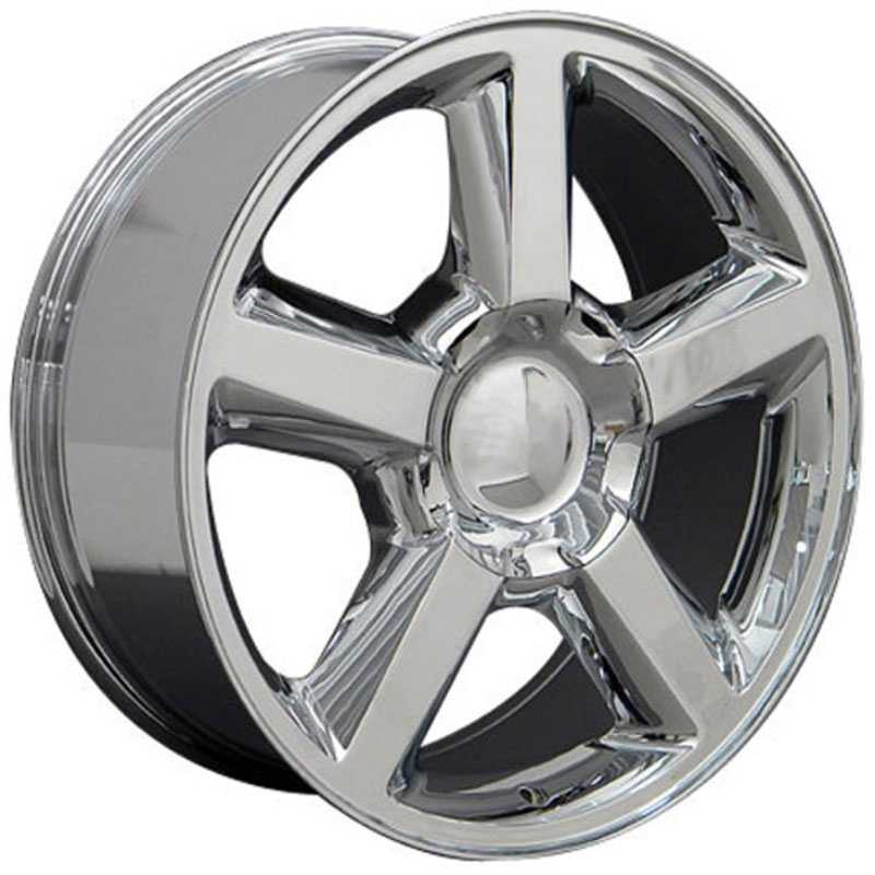 Chevy 083 Tahoe  Rims Chrome
