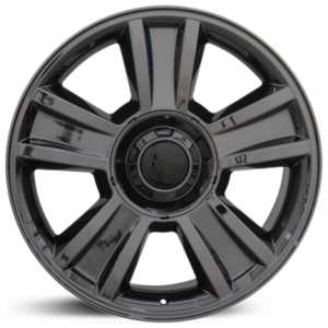Chevy Tahoe CV86  Wheels Black Chrome