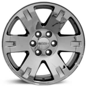 Chevy Yukon CV81  Rims Black Chrome