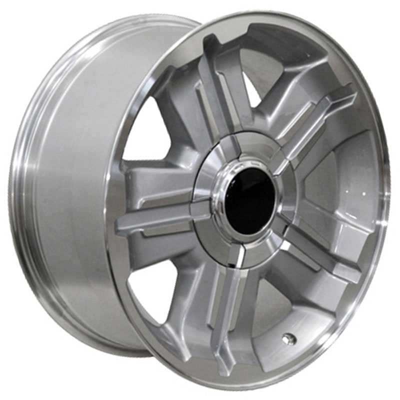 Chevy Z71 CV88  Wheels Machined Silver