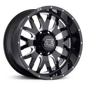 Eagle Alloy 507  Rims Gloss Black with Milled accents