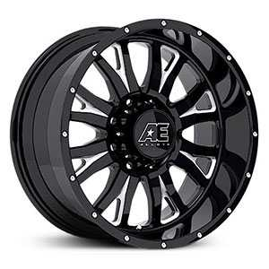 Eagle Alloy 511  Wheels Gloss Black with Milled accents
