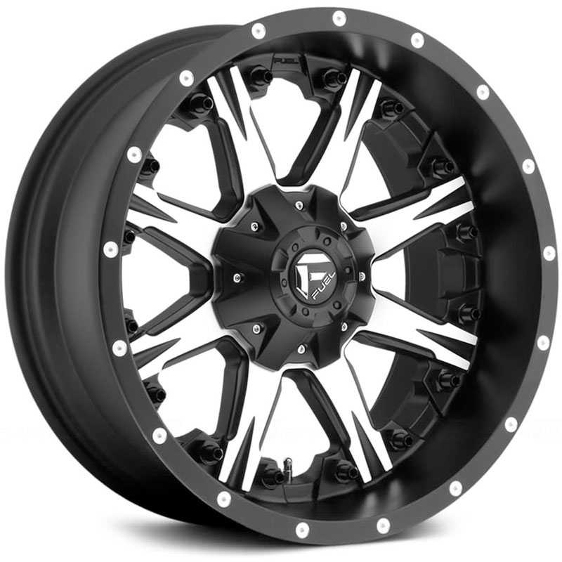 D541 Nutz Matte Black Machined