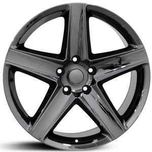 Jeep Cherokee JP06  Wheels Black Chrome