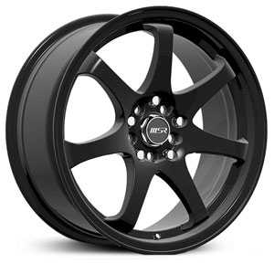 MSR 013  Wheels Black