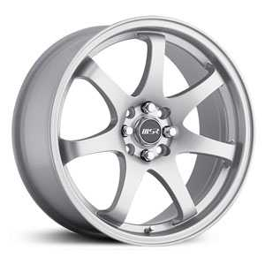 MSR 013  Wheels Silver