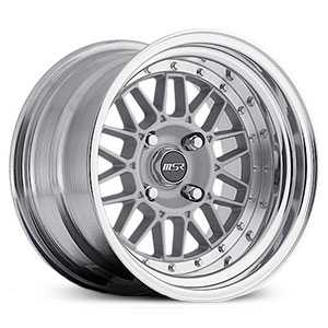 MSR 228  Wheels Polished with Cast center