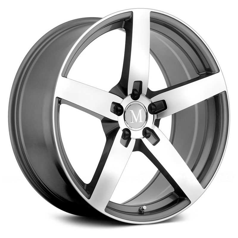Mandrus Arrow  Rims Gunmetal w/Mirror Cut Face
