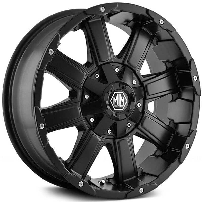 Mayhem Chaos 8030  Wheels Matte Black