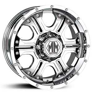 Mayhem Havoc 8020  Wheels Chrome