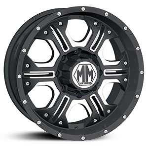 Mayhem Havoc 8020  Wheels Matte Black w/ Machined