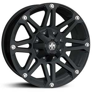 Mayhem Riot 8010  Wheels Matte Black