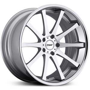 TSW Jerez MP  Rims Silver w/ Machined Face & SS Lip