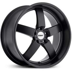 TSW Rockingham  Wheels Matte Black