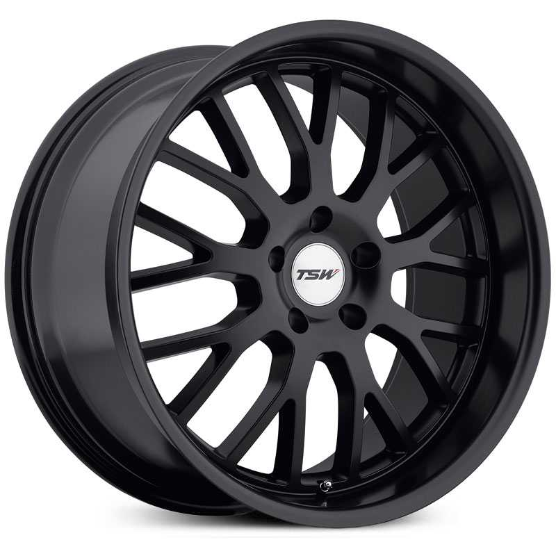 TSW Tremblant  Wheels Matte Black