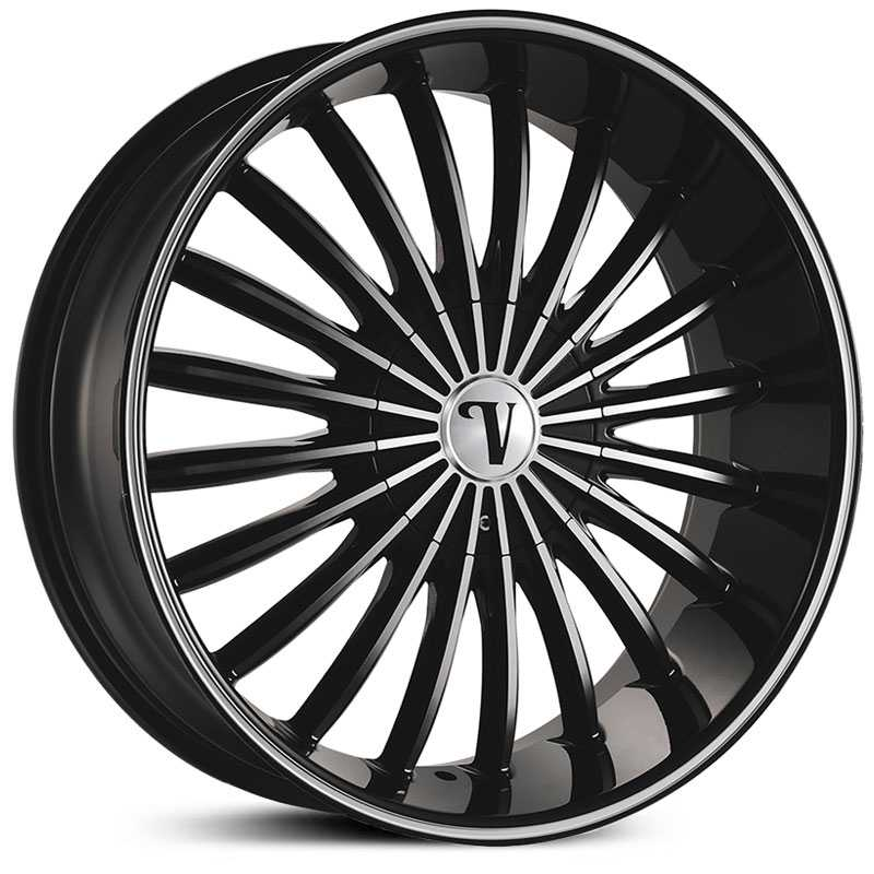 Velocity VW-11  Wheels Black Machined