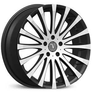 Velocity VW-13  Rims Black Machined